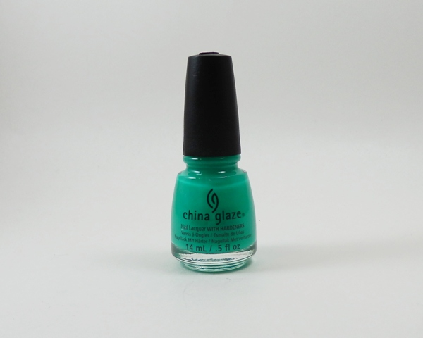 July 2013 Topbox China Glaze Keepin it Teal