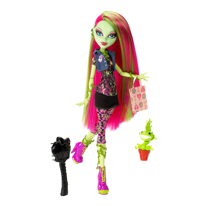 Monster High Doll Action Figures Venus Mcflytrap Plant Monster Mu  Eca