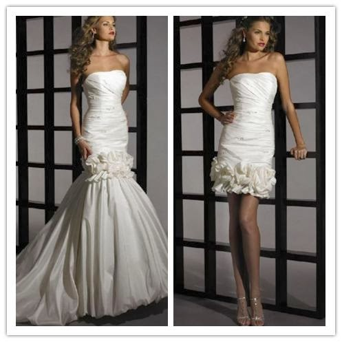 wedding blog convertible wedding dress your best choice