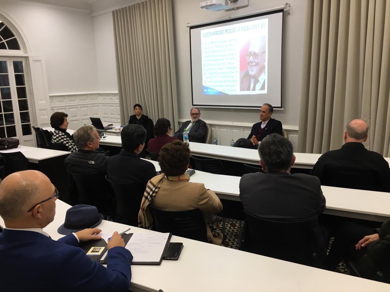 Universidad de Piura, campus Lima:  Presentación de la edición de las Obras completas de Polo.