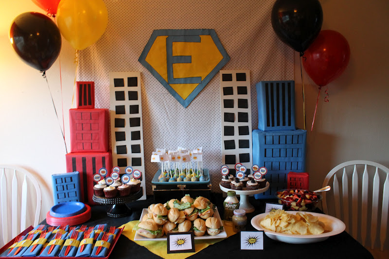 Baby Shower Decorations Superhero ~ Smellin coffee superhero baby shower