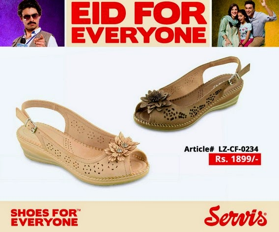 Servis Eid Collection 2014 for Girls