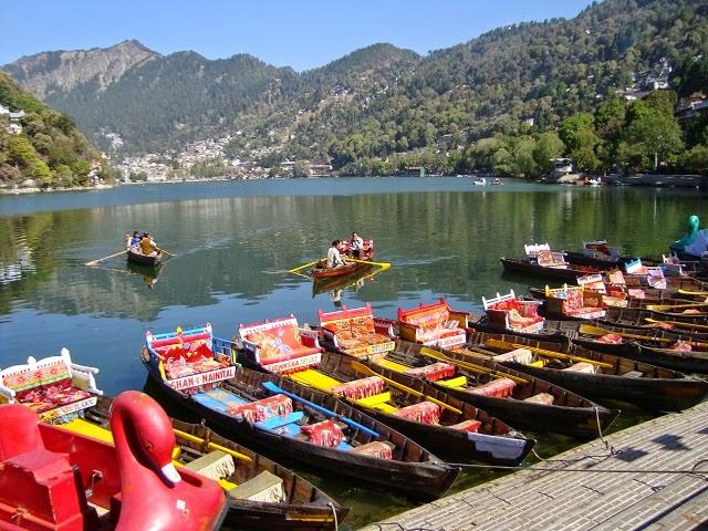 Naini Lake in Nainital,Uttarakhand