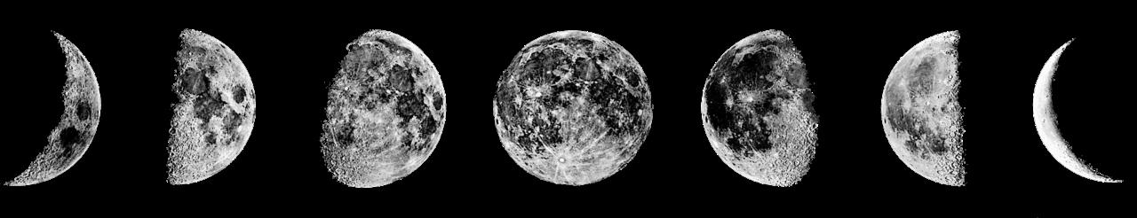 La lune de velours.