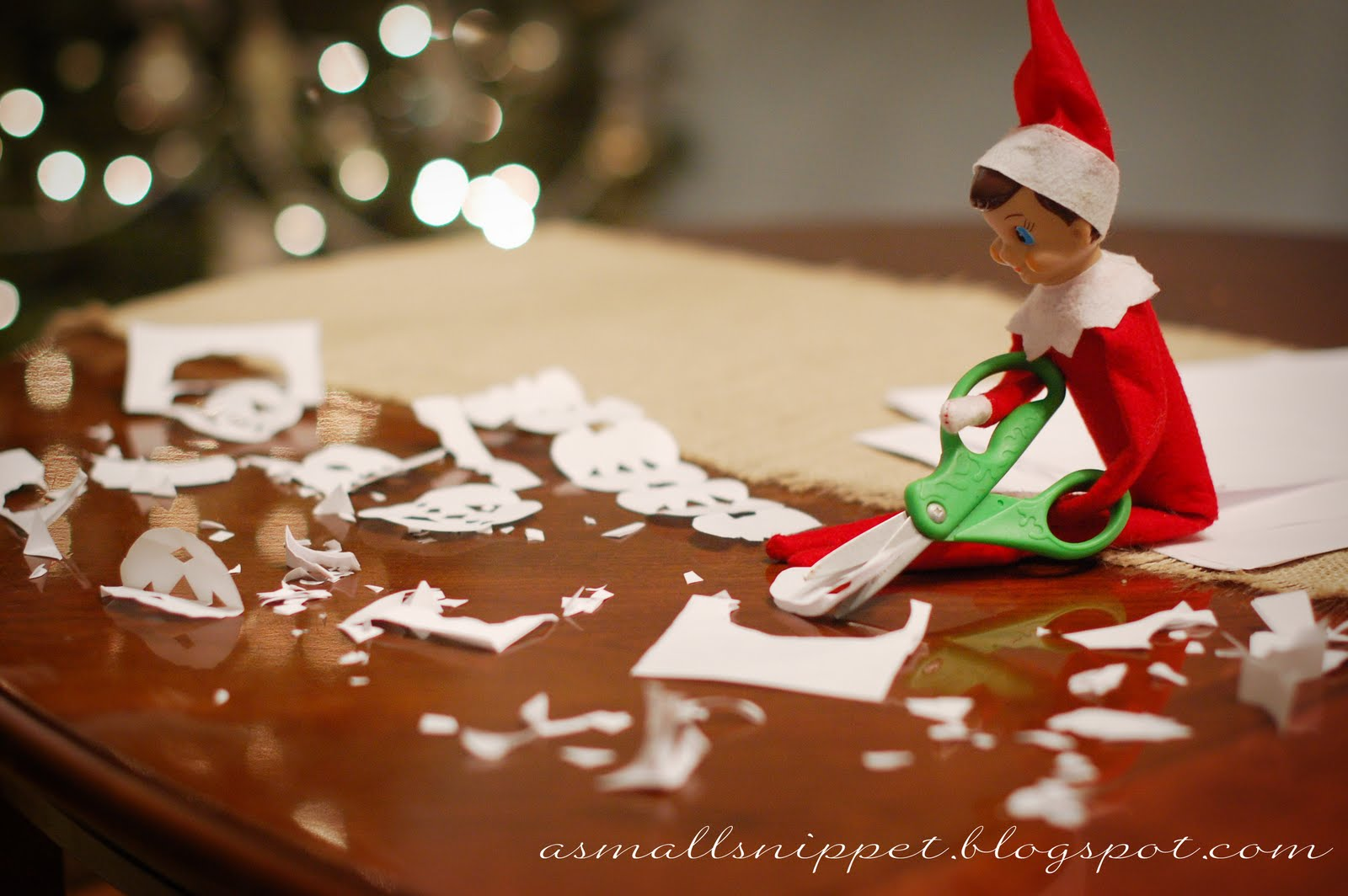 45 Elf on the Shelf Ideas from the same Elf!  A Small