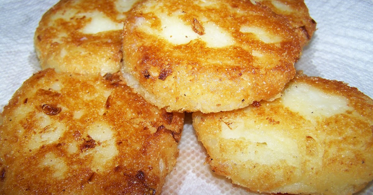 Fried Potato Cakes Left Over Mashesd Potatoes