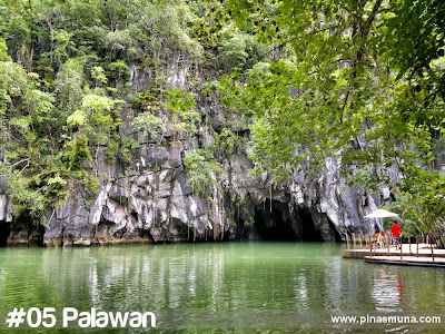 Palawan is the fifth largest island in the Philippines