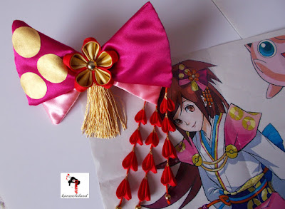 kanzashiland cosplay Oichi Pokemon Conquest