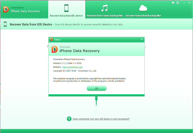 Download Tenorshare Iphone Data Recovery 6 7 1 1 Build 2 1