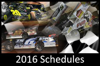 2016 Season Schedules