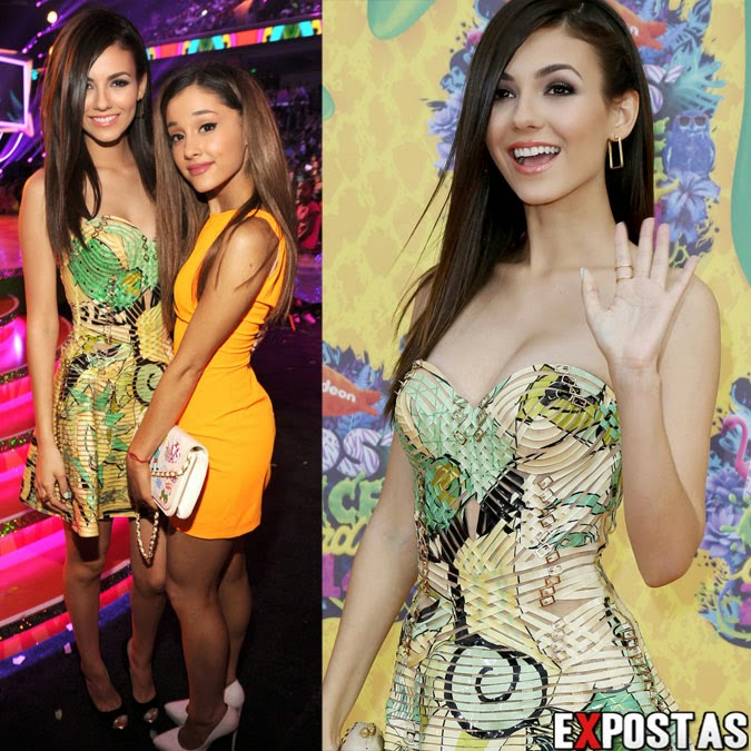 Victoria Justice do Edson e Ariana Grande