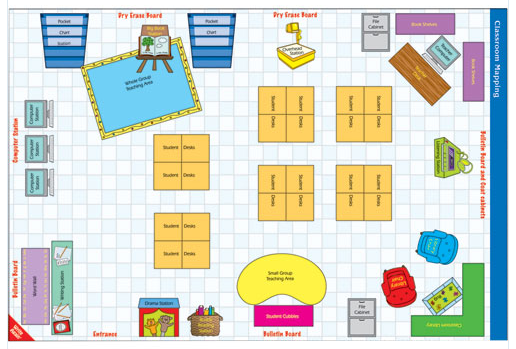 Preschool Classroom Design Template : Ms m s classroom design