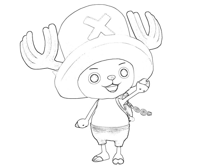 printable-one-piece-tony-tony-chopper-happy-coloring-pages