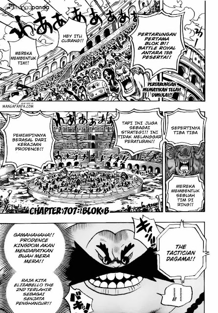 "Download Komik One Piece Chapter 707 ""Blok B"" Bahasa Indonesia"