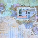 МК от Насти StacyLilac по страничке из бумаги EcoPaper