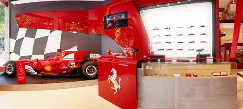 Ferrari Store Interior Design Barcelona