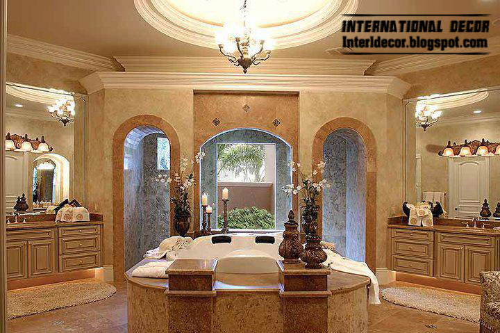 Top 10 royal bathroom designs with luxurious accessories for Luxury master bath designs
