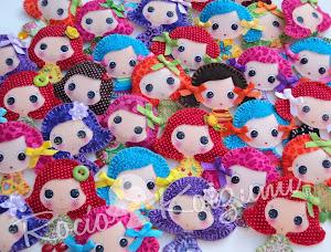 Mis broches de muñequitas