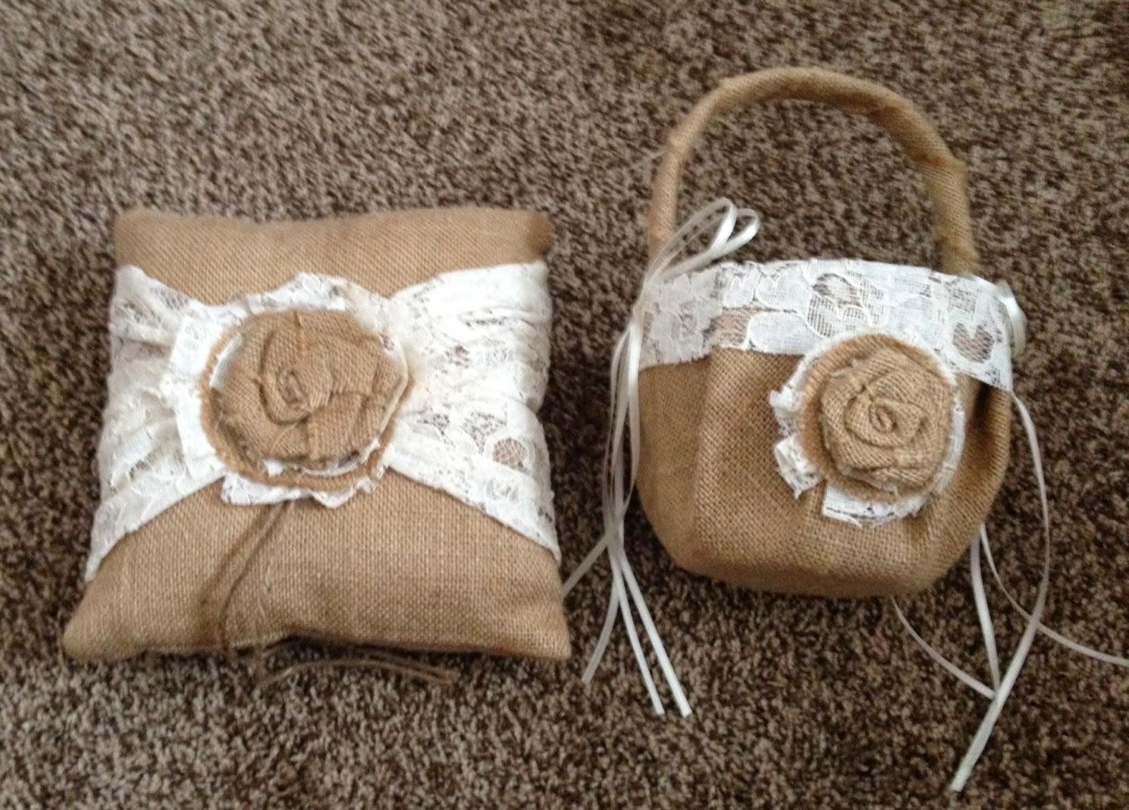 Burlap Flower Girl Basket Hobby Lobby : Emilee holmberg may