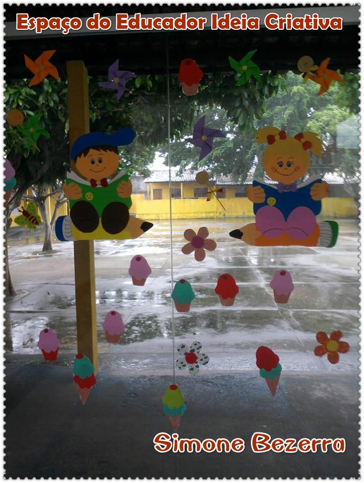 Modelo Painel Dia das Crianças ou Volta às Aulas