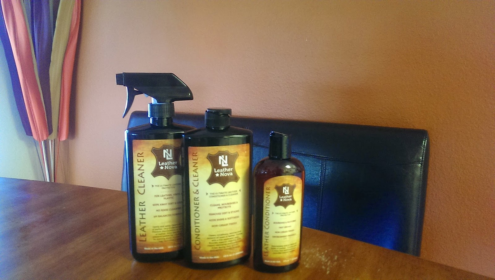 Leather%2BCleaner My Furniture Looks Like New After Using Leather Nova - Leather Nova Product Review