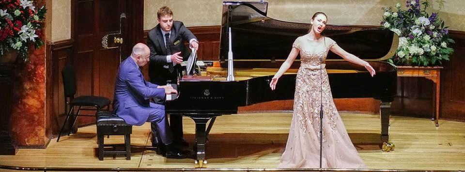 Aida Garifullina and Iain Burnside at Rosenblatt Recitals at the Wigmore Hall (c) Jonathan Rose