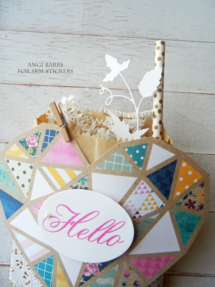 srm stickers big hello gift bags by angi barrs
