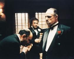 een fragment uit de film godfather