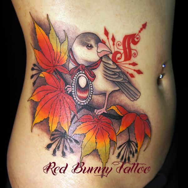 鳥 bird タトゥー TATTOO 刺青