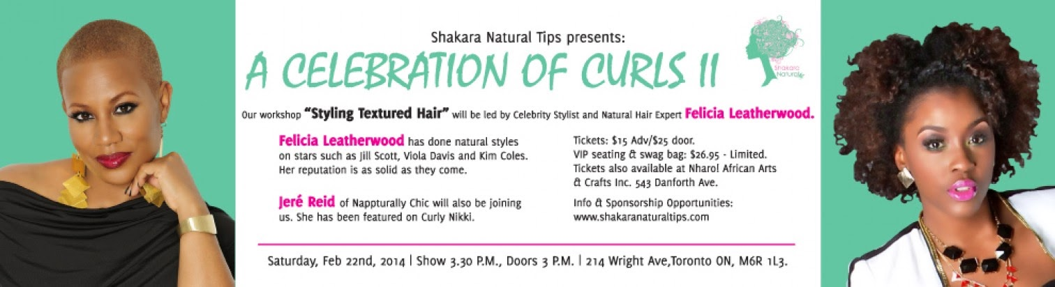 A Celebration of Curls II (Toronto, Canada 2/22/14)