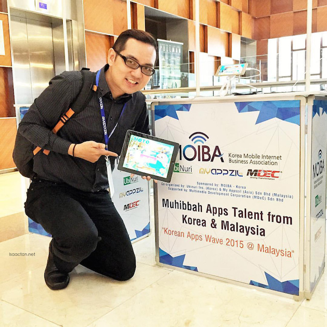 Korean Apps Wave & Muhibbah Apps Talent Malaysia 2015 @ Pullman Putrajaya