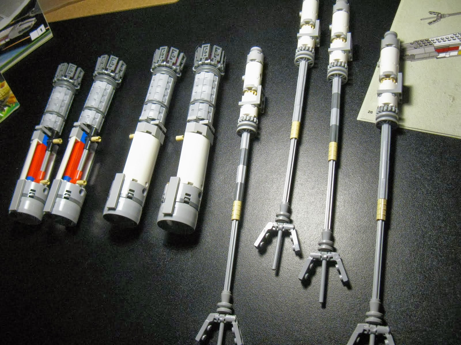 Les lasers et réacteurs en attentes