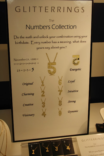 The Numbers Collection by Glitterrings