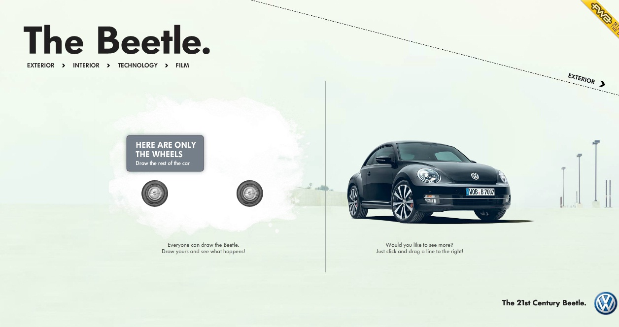 marketing the new beetle Volkswagen uses music to promote new beetle volkswagen's general manager, experiential marketing vw is using the ties to promote the redesigned 2012 beetle.
