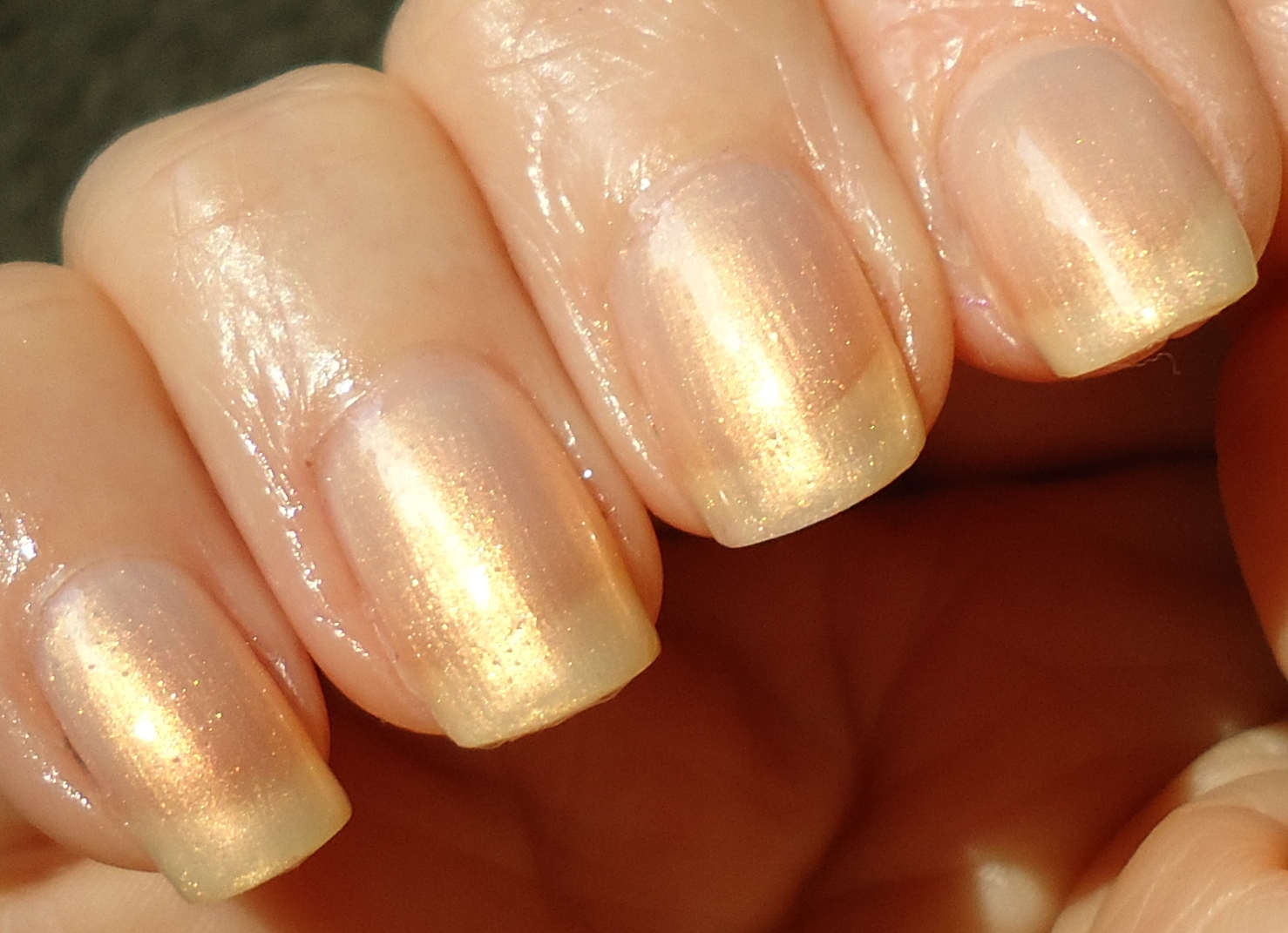 Making up 4 my age: An old OPI: Kiss The Bride