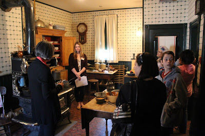 A guided tour at Dalnavert Museum during Doors Open Winnipeg 2015.