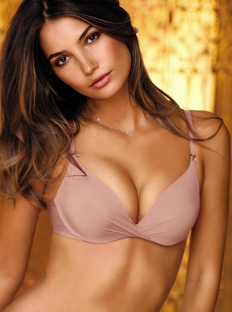 Lily Aldridge – Victoria's Secret Lingerie Photoshoot