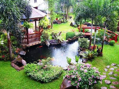 Backyard Pond For Dummies : Ideias de trazer por casa Inspira??o J de Jardim!