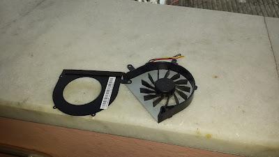 Lenovo IdeaPad G510 Detaylı Fan Temizliği