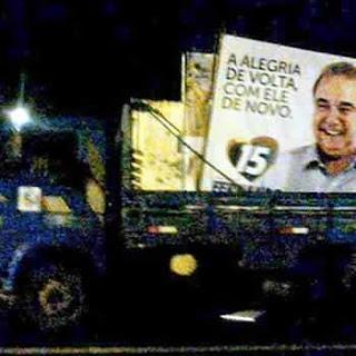Propaganda irregular de Fernando Jordão