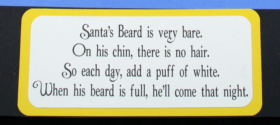 Santa S Beard Advent Calendar