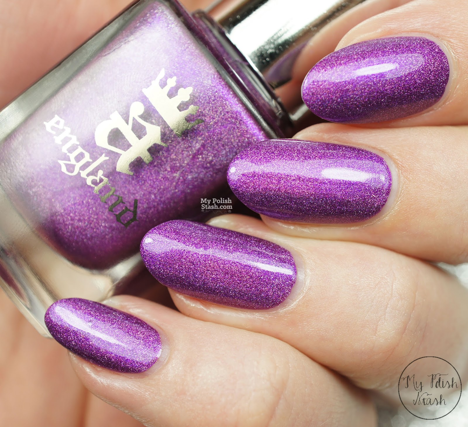 amethyst purple nail polish