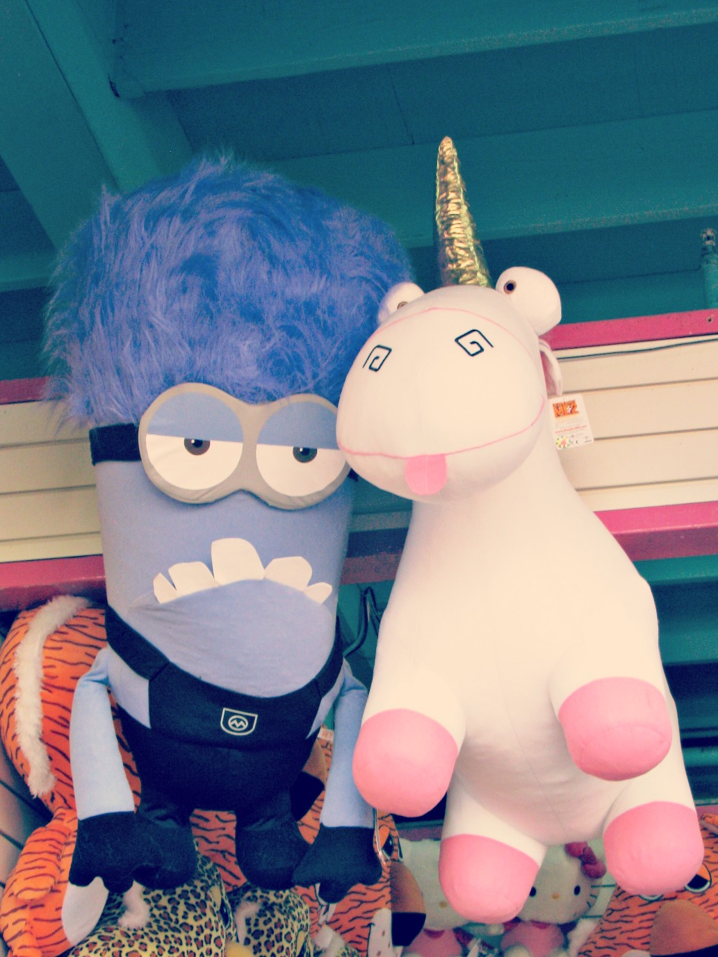 Santa Monica Boardwalk // Despicable Me 2 Plushies