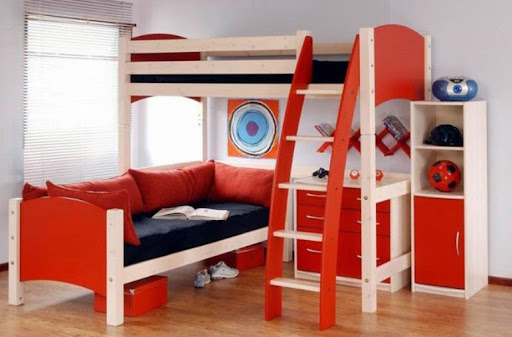 Kids Bedroom 2014 children bed design multifunctional | my home design