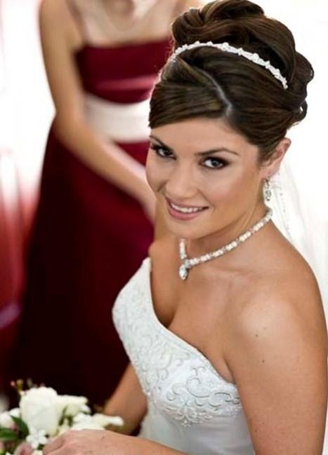 Todo sobre bodas peinados de novia con el pelo recogido - Peinados de novia recogido ...