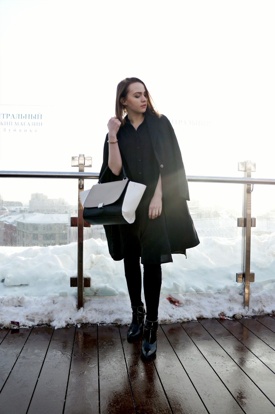 Black Coat | Winter Look | Fashion Blogger