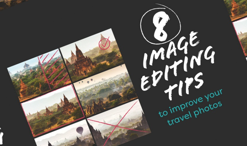 8 Image Editing Techniques To Improve Your Photos - #infographic