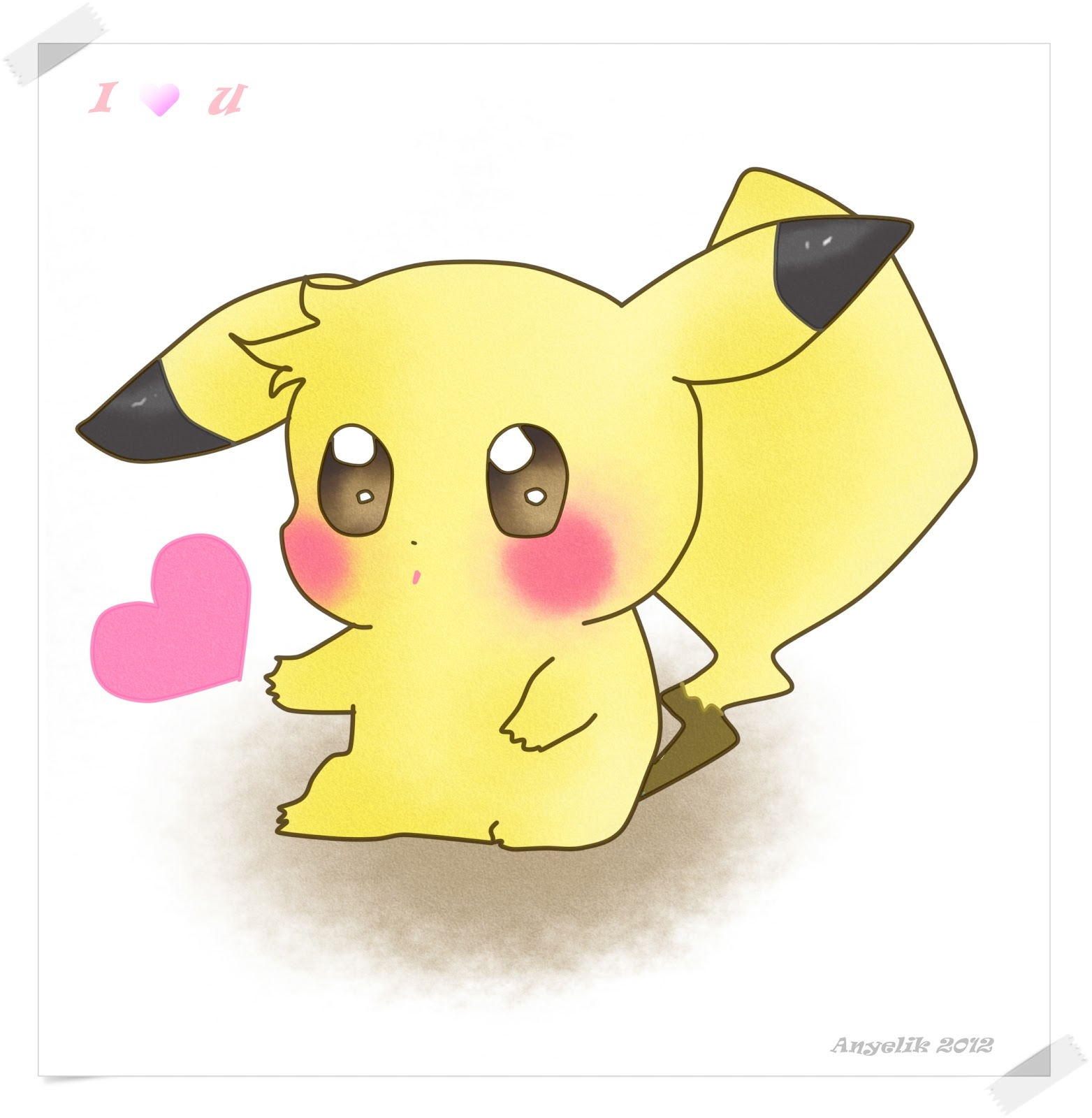 Mis dibujos y sentimientos mayo 2012 - Kawaii pikachu ...