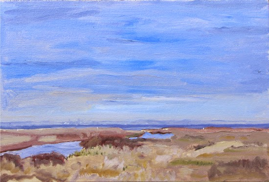 view of Toronto, Schifano, plein air