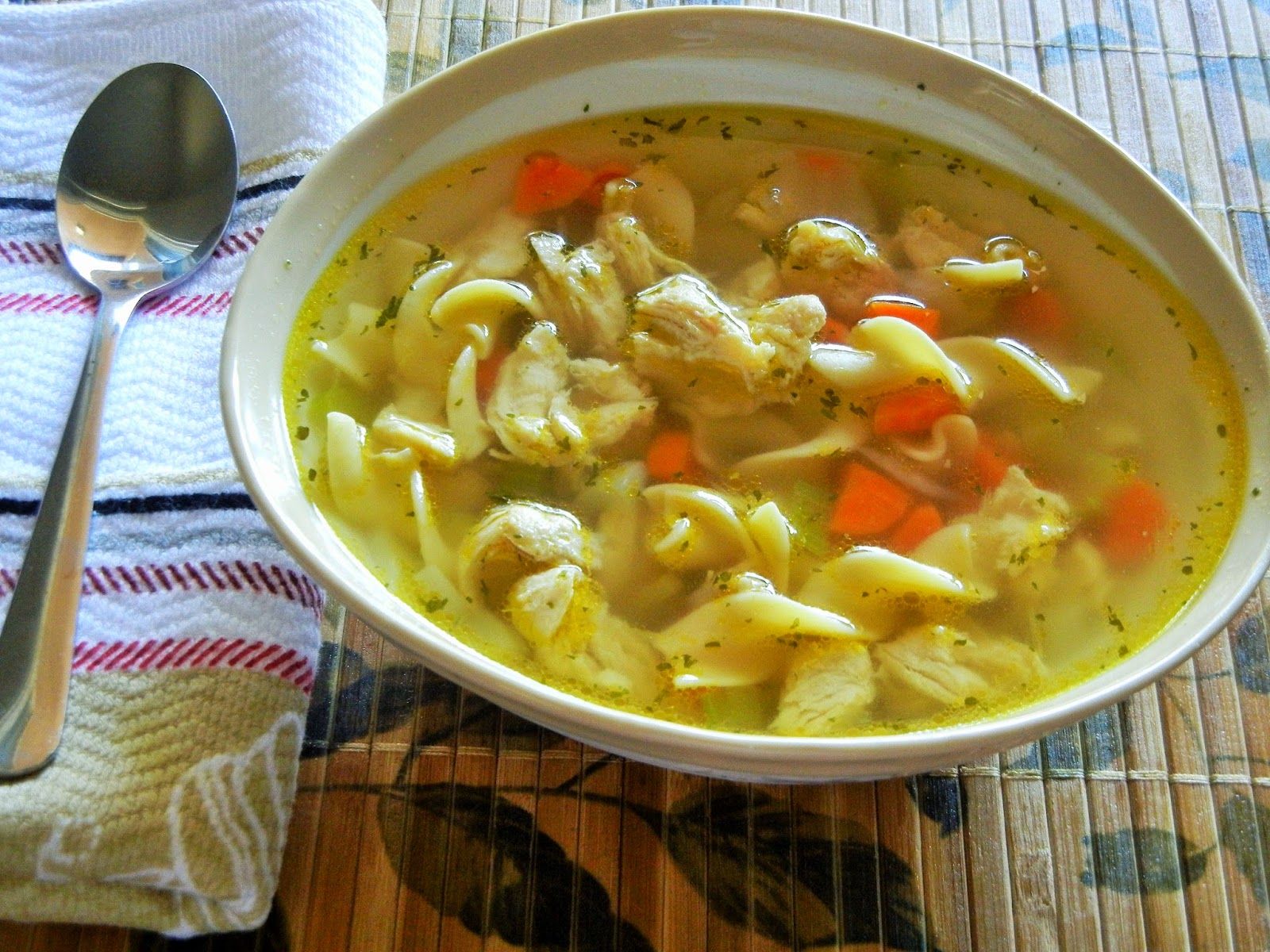 Chicken Noodle Soup Recipe For Kids of Chicken Noodle Soup